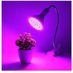 preiswerte LED-Birnen-1pc 25W 1700lm E26 / E27 Wachsende Lampe 260 LED-Perlen SMD 5730 Dekorativ Blau Rot 85-265V
