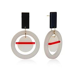 preiswerte Ohrringe-Damen Tropfen-Ohrringe - Rockig, Gothic Regenbogen Für Party Alltag