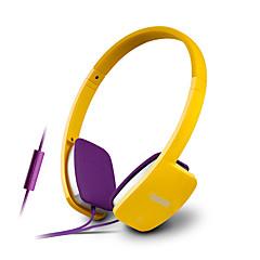 halpa Kuulokkeet-EDIFIER H640P Headband Johto Kuulokkeet Dynaaminen Metalli Gaming Kuuloke Mikrofonilla kuulokkeet
