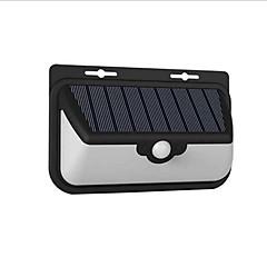abordables Aplique para Exterior-1pc 10 W Luces solares LED Impermeable / Control remoto / Sensor de infrarrojos Blanco Fresco <5 V Iluminación Exterior