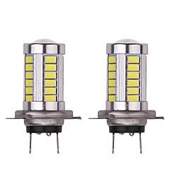 Недорогие Противотуманные фары-2pcs Лампы 16.5W SMD 5630 33 Противотуманные фары For Универсальный Все модели Универсальный
