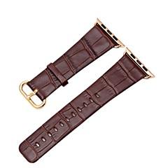preiswerte Apple Watch Armbänder-Uhrenarmband für Apple Watch Series 2 Apple Watch Series 1 Apple Klassische Schnalle Echtes Leder Handschlaufe