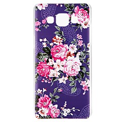 billige Galaxy A7 Etuier-Etui Til Samsung Galaxy A5(2016) A3(2016) Rhinsten Præget Mønster Bagcover Blomst Hårdt PC for A3 (2017) A5 (2017) A7 (2017) A7(2016)