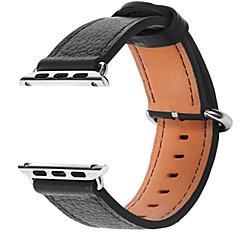 Χαμηλού Κόστους Μπρασελέ για Apple Watch-Παρακολουθήστε Band για Apple Watch Series 3 / 2 / 1 Apple Λουράκι Καρπού Αθλητικό Μπρασελέ Δέρμα