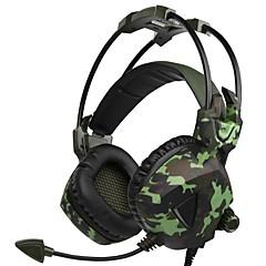 preiswerte Headsets und Kopfhörer-SADES SA-917 Stirnband Mit Kabel Kopfhörer Dynamisch Kunststoff Spielen Kopfhörer Mit Mikrofon Headset