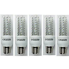 お買い得  LED 電球-5個 9W 720lm E27 LEDコーン型電球 T30 48 LEDビーズ SMD 3528 クールホワイト 110-240V