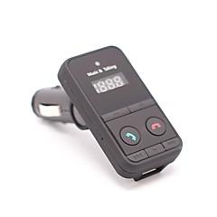 Недорогие Bluetooth гарнитуры для авто-301e автомобильное зарядное устройство беспроводной bluetooth fm передатчик модулятор hands free автомобильный комплект mp3 аудио плеер