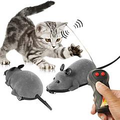 저렴한 -원격 조정 동물모형 장난감 마우스 애완동물 친화적인 애니멀 강아지 및 다른 반려동물에게 해롭지 않음 선물 모두