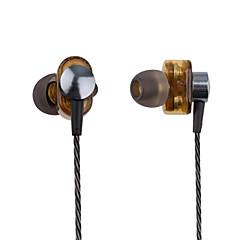 お買い得  ヘッドセット、ヘッドホン-PHB EP012 耳の中 ケーブル ヘッドホン 動的 プラスチック プロオーディオ イヤホン ボリュームコントロール付き / マイク付き ヘッドセット