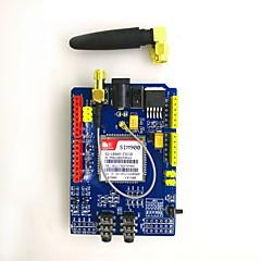 abordables Módulos-Kit de módulo de placa de desarrollo sim900 850/900/1800/1900 mhz gprs / gsm para arduino