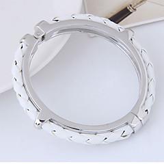 preiswerte Armbänder-Damen Armreife - Leder Zierlich, Einfach, Europäisch Armbänder Gold / Silber Für Alltag