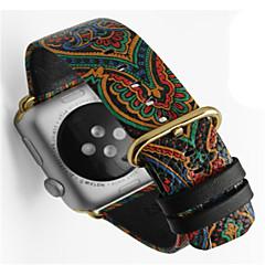abordables Accessoires Apple Watch-Bracelet de Montre  pour Apple Watch Series 3 / 2 / 1 Apple Boucle Moderne Vrai Cuir Sangle de Poignet