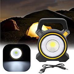 abordables Cocina de Camping-Focos Luces Portátiles / Luces solares LED Iluminación de emergencia El plastico Al aire libre para Camping Amarillo / Gris oscuro