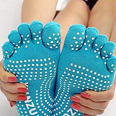 abordables Calcetines-Yoga Calcetines Transpirable A prueba de resbalones Alta elasticidad Ropa deportiva Mujer Yoga