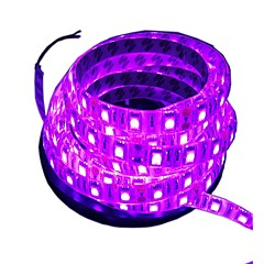 cheap LED Strip Lights-300 LEDs 5M LED Strip Light Pink Cuttable Waterproof Self-adhesive Suitable for Vehicles Decorative DC 12V