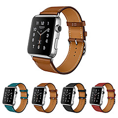 abordables Correas para Apple Watch-Ver Banda para Apple Watch Series 4/3/2/1 Apple Correa de Cuero Cuero Auténtico Correa de Muñeca