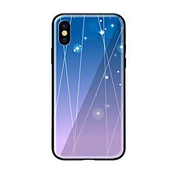 billige iPhone 5-etuier-Etui Til Apple iPhone X iPhone 8 Mønster Bagcover Byudsigt Hårdt Tempereret glas for iPhone X iPhone 8 Plus iPhone 8 iPhone 7 iPhone 6s