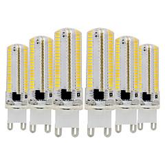 お買い得  LED 電球-ywxlight®6pcs g9 3014 7w 600-700lmは二ピンのライトを導いたdimmable暖かい白い涼しい白い自然な白い360のビームの角度のライトスポットライト110-130v 220-240v