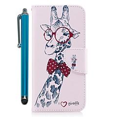 Недорогие Чехлы и кейсы для Huawei Mate-Кейс для Назначение Huawei Mate 10 lite Mate 10 Бумажник для карт Кошелек со стендом Флип Магнитный Чехол Животное Твердый Кожа PU для
