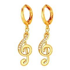olcso Karika fülbevalók-Női Arannyal bevont Francia kapcsos fülbevalók - Alkalmi Édes Arany Ezüst Geometric Shape Fülbevaló Kompatibilitás Estély Diákbál