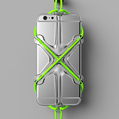 Недорогие Кейсы для iPhone-Кейс для Назначение Apple Универсальный Защита от удара Кейс на заднюю панель Сплошной цвет Твердый Силикон для iPhone X iPhone 8 Pluss