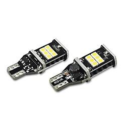 お買い得  カーアクセサリー-2pcs 電球 15W SMD 3030 15 外部照明 For ユニバーサル 全ての機種 全年式