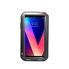 abordables Carcasas / Fundas para LG-Funda Para LG V30 V20 Agua / Polvo / prueba del choque Funda de Cuerpo Entero Color sólido Dura Metal para LG V30 LG V20