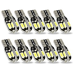 Недорогие Освещение салона авто-SENCART 10 шт. T10 Автомобиль Лампы 3 W SMD 5630 240 lm 8 Светодиодная лампа Внутреннее освещение Назначение Дженерал Моторс Все года