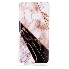 halpa Huawei kotelot / kuoret-Etui Käyttötarkoitus Huawei P8 Lite (2017) P10 Lite IMD Kuvio Kimmeltävä Takakuori Marble Kimmeltävä Pehmeä TPU varten P10 Lite Huawei P9