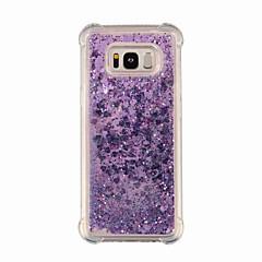 tanie Galaxy S6 Etui / Pokrowce-Kılıf Na Samsung Galaxy S9 S9 Plus Odporne na wstrząsy Połysk Czarne etui Przejście kolorów Połysk Miękkie TPU na S9 Plus S9 S8 Plus S8