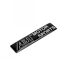preiswerte Auto Dekoration-1 Stück Auto Aufkleber Cool Türaufkleber Text / Nummer Aufkleber