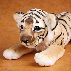 abordables Juguetes de Peluche-Tiger Animales de peluche y de felpa Encantador Confortable Algodón Chica Juguet Regalo 1 pcs