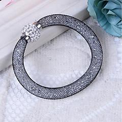 Χαμηλού Κόστους Βραχιόλια-Γυναικεία Βραχιόλια Συνθετικό Diamond Στρας Καθημερινό Βασικό Ρητίνη Πλαστική ύλη Προσομειωμένο διαμάντι Tube Shape Κοσμήματα Δώρο