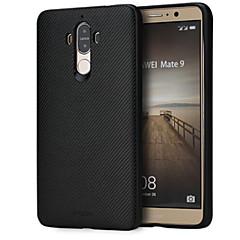 Недорогие Чехлы и кейсы для Huawei Mate-Кейс для Назначение Huawei Mate 9 Защита от удара Кейс на заднюю панель Сплошной цвет Мягкий Силикон для Mate 9