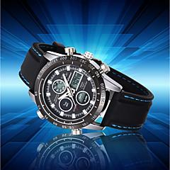 preiswerte Digitaluhren-Herrn Sportuhr / Modeuhr / Armbanduhr Japanisch Kalender / Wasserdicht / Stopuhr Silikon Band Luxus Schwarz / Großes Ziffernblatt / Maxell2025