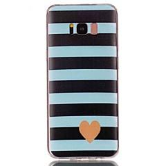 Χαμηλού Κόστους Galaxy S6 Edge Θήκες / Καλύμματα-tok Για Samsung Galaxy S8 Plus S8 Με σχέδια Πίσω Κάλυμμα Καρδιά Μαλακή TPU για S8 Plus S8 S7 edge S7 S6 edge plus S6 edge S6 S5 S4 S3