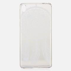 Недорогие Чехлы и кейсы для Sony-Кейс для Назначение Sony Xperia XZ / Xperia XA С узором Кейс на заднюю панель Ловец снов Мягкий ТПУ для Sony Xperia XZ / Sony Xperia XA / Sony Xperia X compact
