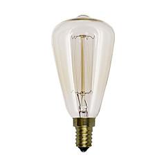 preiswerte LED-Birnen-1pc 40 W E14 ST48 Warmes Weiß 220-240 V / 110-130 V / 85-265 V