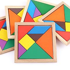 voordelige -Houten puzzels Vlak Klassiek Focus Toy Handgemaakt Puinen 1pcs Universele Familie Speelgoed Baby Geschenk