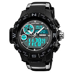 cheap Digital Watches-SKMEI Men's Digital Fashion Watch Sport Watch Casual Watch Chinese Calendar / date / day Chronograph Water Resistant / Water Proof