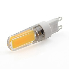 preiswerte LED-Birnen-WeiXuan 1pc 3W 265lm G9 LED Doppel-Pin Leuchten T 1 LED-Perlen COB Warmes Weiß Kühles Weiß 220V