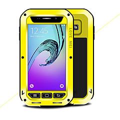 abordables Galaxy A3 Carcasas / Fundas-Funda Para Samsung Galaxy A3(2016) Agua / Polvo / prueba del choque Funda de Cuerpo Entero Color sólido Dura Metal para A3(2016) A5 A3