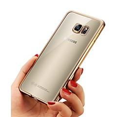abordables Fundas / Carcasas para Galaxy Serie A7-Funda Para Samsung Galaxy A8 Plus 2018 / A8 2018 Cromado / Ultrafina / Cuerpo transparente Funda Trasera Un Color Suave TPU para A3 (2017) / A5 (2017) / A7 (2017)