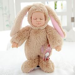 abordables muñecas-Muñecas reborn Bebés Niñas 10 pulgada Cuerpo completo de silicona Silicona - Recién nacido natural Bonito Ecológica Segura para Niños Non Toxic Kid de Unisex / Chica Juguet Regalo