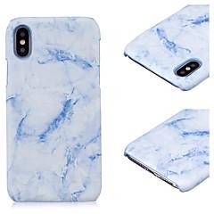 Недорогие Кейсы для iPhone X-Кейс для Назначение Apple iPhone X iPhone 8 iPhone 8 Plus IMD Ультратонкий Кейс на заднюю панель Мрамор Твердый ПК для iPhone X iPhone 8
