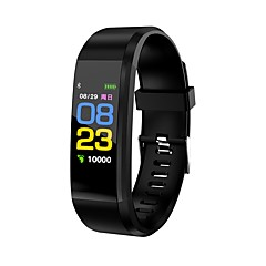 cheap Smart Electronics-Smart Bracelet Smartwatch KL115 for Heart Rate Monitor / Pedometers / Message Reminder / Call Reminder Pedometer / Call Reminder / Fitness Tracker / Activity Tracker / Sleep Tracker / Alarm Clock
