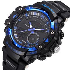preiswerte Herrenuhren-SHIFENMEI Herrn Sportuhr Chinesisch Kalender / Armbanduhren für den Alltag / Großes Ziffernblatt Plastic Band Luxus / Modisch Schwarz