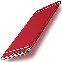 お買い得  Huawei Pシリーズケース/ カバー-ケース 用途 Huawei P10 P10 Plus 耐衝撃 メッキ仕上げ バックカバー ソリッド ハード PC のために P10 Plus P10 Lite P10 Huawei P9 Plus Huawei P9 Lite Huawei P9