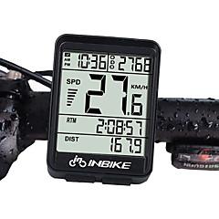 abordables Cuentakilómetros-INBIKE IN321 Ordenador de Bicicleta Impermeable / Inalámbrica / iluminar desde el fondo Ciclismo / Bicicleta / Bicicleta de Montaña / Bicicleta de Pista Ciclismo