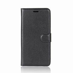 Недорогие Чехлы и кейсы для Huawei серии Y-Кейс для Назначение Huawei Y9 (2018)(Enjoy 8 Plus) Y7 Prime (2018) Бумажник для карт Кошелек Флип Магнитный Чехол Однотонный Твердый Кожа